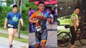 คนจริง 2018 ลดน้ำหนักเพื่อลงแข่งไตรกีฬา สุดหินของประเทศ