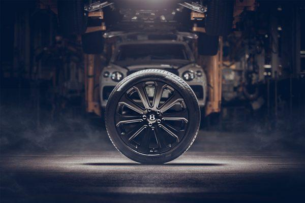 Bentley Carbon Fiber Wheel