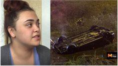 รอดตาย!! iPhone และ Apple Watch ช่วยชีวิตสาวอเมริกาจากอุบัติเหตุรถคว่ำในคูน้ำ