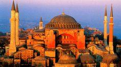 ฮาเกีย โซเฟีย โบสถ์ทรงโดม ใหญ่ที่สุดในโลก