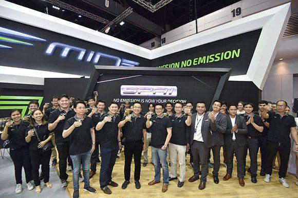 EA ฉลองยอดจอง 4,558 คัน รถยนต์ไฟฟ้าอเนกประสงค์ MINE รุ่น SPA 1