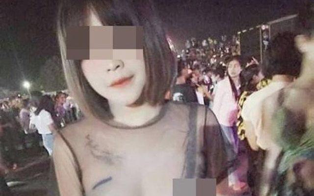 ตำรวจเร่งล่าตัว สาวสวมซีทรูโชว์อก วันไหลสงกรานต์บุรีรัมย์