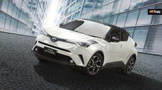 Toyota C-HR รุ่นปรับปรุงใหม่ เพิ่มสีขาวมุกหลังคาดำและดีไซน์ล้ออัลลอยใหม่