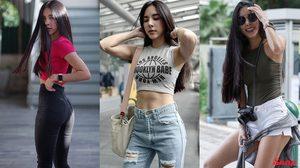 ยอมใจหุ่น เบเบ้ ธันย์ชนก กับไอเทมโปรด กางเกงยีนส์-เสื้อครอป-เสื้อรัดรูป เทคนิคสร้างความเซ็กซี่!!!