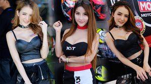 จัดไปชุดใหญ่! พาส่องพริตตี้สายซิ่ง ส่งตรงด่วนๆ จากงาน MotoGP บุรีรัมย์