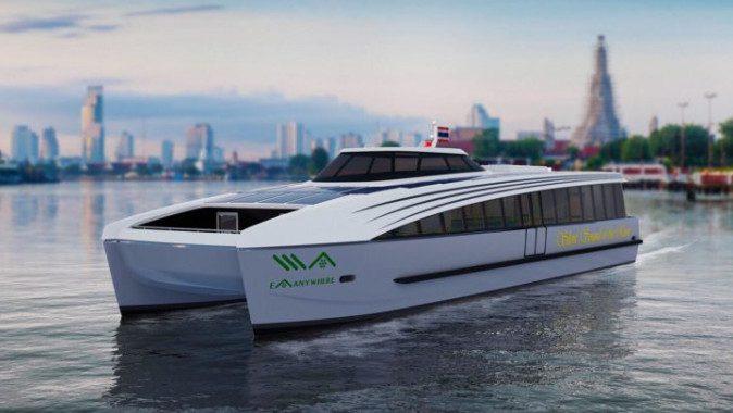 เป็นไปได้มั้ยที่บ้านเราจะมี รถไฟฟ้า เรือไฟฟ้าวิ่งในเมืองไทย