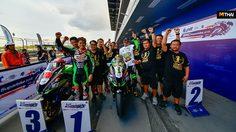 ติ๊งโน๊ต เฉือนคู่แข่งควบ Kawasaki ZX-10RR เข้าเส้นชัย ชนะเลิศอันดับ1