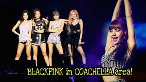 ภาพโชว์ประวัติศาสตร์! BLACKPINK เกิร์ลกรุ๊ปเกาหลีวงแรกบนเวที Coachella