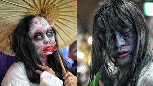 ภาพบรรยากาศ วันฮาโลวีน เทศกาลผีๆ ในเมืองกรุง