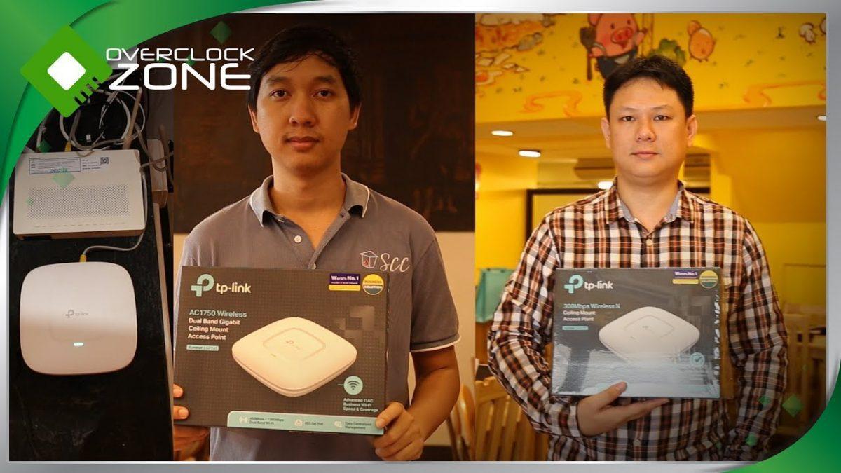 TP-Link ติดตั้งอุปกรณ์ Access Point ให้กับร้านผู้โชคดีจากกิจกรรมเพจ TP-Link Biz