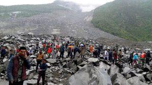 ทารกจีนรอดตายปาฏิหาริย์ จากดินถล่ม ด้านผู้นำสั่งเร่งช่วยเหลือผู้ประสบภัย