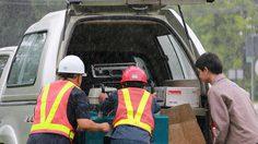 กฟผ.แม่เมาะ ส่งทีมงานพร้อมเครื่องปั่นไฟ หนุนปฏิบัติการค้นหา 13 ชีวิต สูญหายในถ้ำหลวง