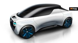 Honda Tomo EV Concept รถกระบะไฟฟ้า คอนเซ็ปต์จิ๋ว น่ารักน่าชัง