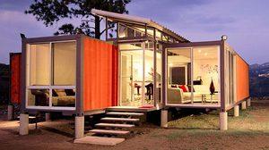 Containers Of Hope บ้านตู้คอนเทนเนอร์ สีส้มแสนสวย
