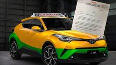 ชัดเจน… Toyota ห้ามดีลเลอร์จำหน่าย C-HR เพื่อทำ แท็กซี โดยเด็ดขาด!!