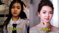 มันก็จะอื้อฮือ! หน่อยๆ 4 สาวดาวโรงเรียน แต่งหน้า Before & After