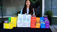 นักเรียนเนตรนารี สามารถขายคุกกี้ได้เงินกว่าสองหมื่นบาท ภายใน 2 ชั่วโมง