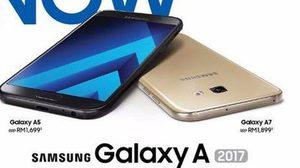 เปิดจองมาพร้อมราคา Samsung Galaxy A 2017 series ทั้ง 3 รุ่น A7, A5, A3 ยืนยันว่ากันน้ำได้