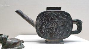 จีนโชว์โบราณวัตถุ อายุ 2,600 ปี สะท้อนศิลปวัฒนธรรมเฟื่องฟู