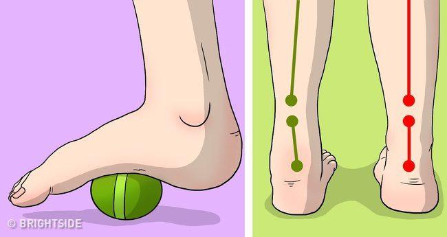 ลดอาการปวดข้อเท้า