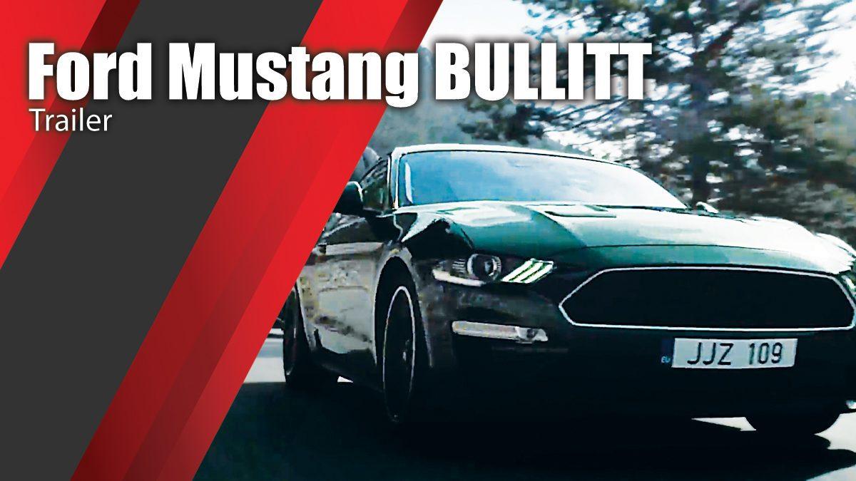 Ford Mustang BULLITT Trailer