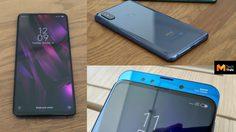สัมผัสเครื่องจริง Xiaomi Mi Mix 3 มือถือ 4 กล้อง จอเต็มไร้รอยบาก