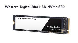 Western Digital เปิดตัว Black 3D NVMe SSD ประสิทธิภาพสูงที่มีสถาปัตยกรรมและชิปควบคุม SSD