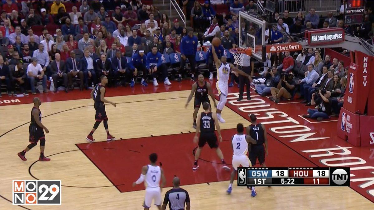 Highlight GoldenState Warriors VS Houston Rockets