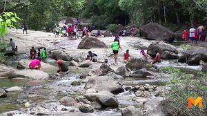 เตือนนักท่องเที่ยวระวังน้ำป่า ตลอดแนวเทือกเขาบรรทัด
