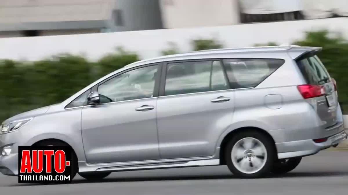 รีวิวรถใหม่ Toyota Innova Crysta 2.8V