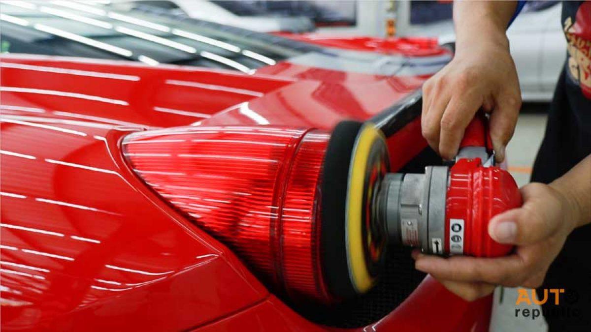 วิธีการขัดเคลือบสีของรถซูเปอร์คาร์ เขามีวิธีการแตกต่างจากรถยนต์ทั่วไปหรือไม่ ต้องดู