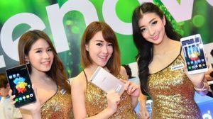 พริตตี้งาน Thailand Mobile Expo 2015