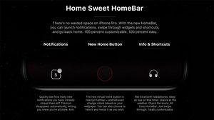 คอนเซปต์ใหม่ ปุ่ม Home iPhone 8 เป็นแบบ Home bar ผู้ใช้สามารถตั้งค่าเองได้
