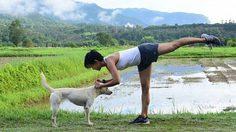สุขภาพดี นอกฟิตเนส!! กาละแมร์ เฮลท์ตี้เกิร์ล ที่ออกกำลังกายมาแล้วเกือบทั่วโลก
