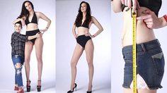 Ekaterina Lisina นางแบบสาวรัสเซีย ขาเรียวยาว สูงที่สุดในโลก 207 ซม.!!