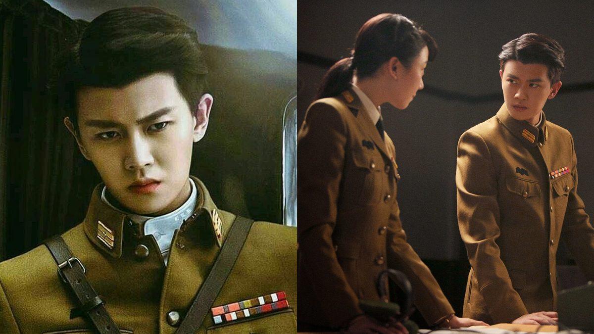 """ลุคทหารของ """"เหรินเจียหลุน"""" หล่อใจละลาย ในซีรีส์จีน """"Autumn Cicada สายลับจักจั่น"""""""