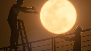 """สดร. เผยภาพ """"ดวงจันทร์เต็มดวงใกล้โลก"""" คืนวันที่ 21 ม.ค. 62"""