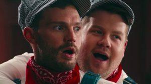 รถไฟของสองเรา!! เจมส์ คอร์เดน และ เจมี ดอร์แนน ฉึกฉัก ๆ ปู๊นปู๊น ในคลิป Fifty Shades of Corden