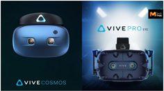 HTC เปิดตัวอุปกรณ์ VR 2 รุ่น ในงาน CES 2019 Vive Cosmos  น้ำหนักเบา และ Vive Pro Eye สั่งงานด้วยดวงตา!!