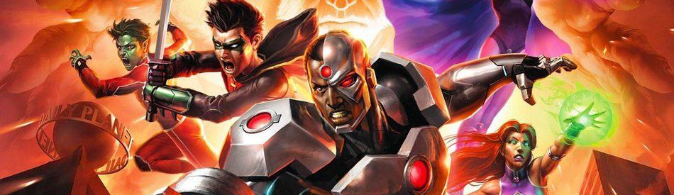 Justice League vs. Teen Titans จัสติชลีกปะทะทีนไททัน