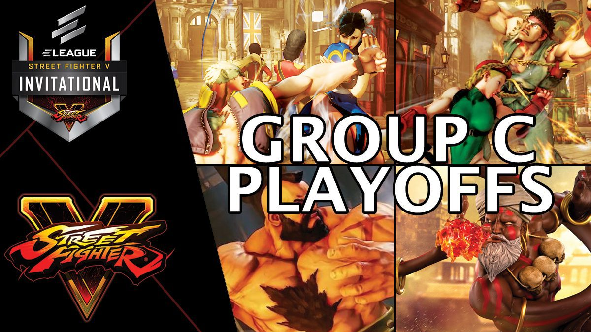 การแข่งขัน Street Fighter V Invitational 2018 | Group C [1/2]