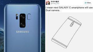 Samsung Galaxy C อาจจะเป็นสมาร์ทโฟนรุ่นแรกของค่าย ที่ใช้กล้องเลนส์คู่