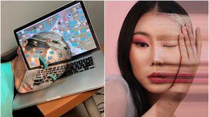 สวย อึ้ง ทึ่ง! Dain Yoon เมคอัพผลงานแนวภาพลวงตา สวยแปลกทะลุมิติ