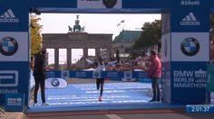 สถิติโลก! นักวิ่งเคนย่าเข้าวินทุบสถิติโลกใน เบอร์ลิน-มาราธอน ด้วยเวลา 2 ชั่วโมงนิดๆ