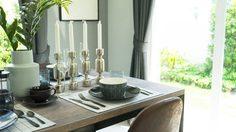 ง่ายแสนง่าย 3 ขั้นตอนทำความสะอาด โต๊ะกินข้าว ที่บ้าน