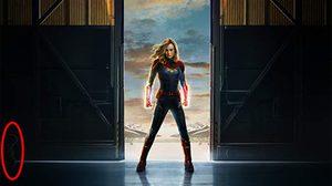 ตัวอะไรในเงาดำ!! ทุกฝ่ายเห็นตรงกัน ชิววี แมวของ แครอล แดนเวอร์ส ในโปสเตอร์ Captain Marvel