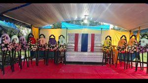 โปรดเกล้าฯ ผู้ว่าฯสงขลาเชิญพวงมาลาวางหน้าหีบศพอาสารักษาดินแดน