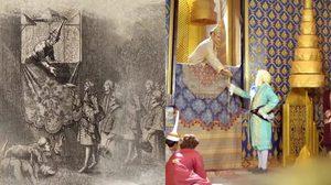 พระราชพิธีถวายพระราชสาส์น สัญลักษณ์การต่อรองทางอำนาจ ระหว่างไทย-ฝรั่งเศส