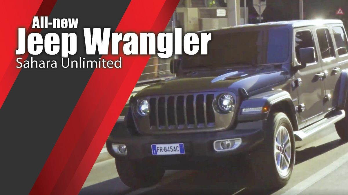 All-new Jeep Wrangler Sahara Unlimited
