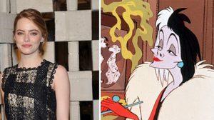 เอ็มม่า สโตน อาจได้เป็น Cruella de Vil ตัวร้ายจากหนัง 101 Dalmatians